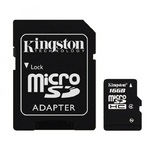 Kingston Micro SDHC Class4 Memory Card 16GB