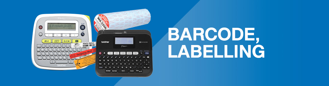 Barcode, Labelling