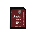 Kingston SDXC UHS-I U3 Memory Card 64 GB