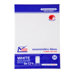 "555 White Silicone-Based Adhesive Envelope 9x12 3/4"" 120 gsm. (5 Envelopes/Pack)"